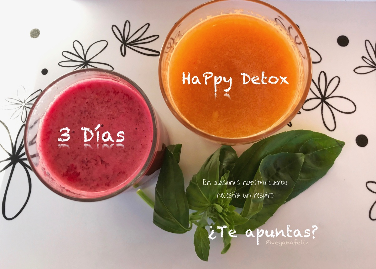 3 días happy detox